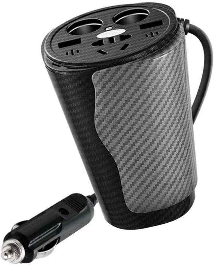 Garneck Car Now free shipping SALENEW very popular! USB Charger Multi Cup Port Mu Shaped
