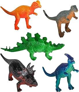 Kicko 96 Pieces Mini Vinyl Dinosaur Set 2-inch - Animal Action Figures Assortment Toy for Kids, Play, Decoration, Gift, Pr...