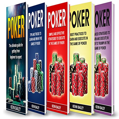 Poker Books: 5 Books in 1 audiobook cover art