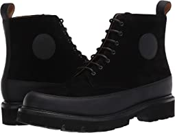 Black Rubberised/Black Suede
