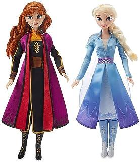 "Anna & Elsa Singing Doll Set Frozen 2 11"" Each"
