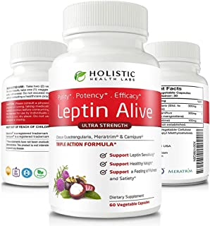 Advanced Weight Loss for Women, Extra Strength - MeraTrim, Carnipure and Cissus Quadrangularis Natural Fat Loss, Boost Metabolism and Suppress Appetite. 60 Veggie Capsules