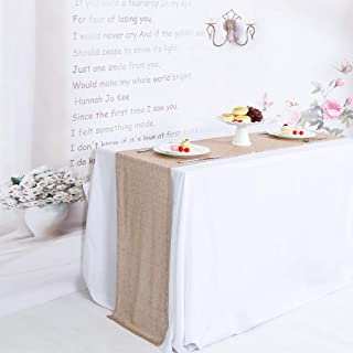 TRLYC 12 by 108-Inch Champagne Sequin Table Runner for Wedding
