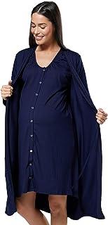 HAPPY MAMA Donna maternit/à Pantalone Disponibile in 3 Lunghezze di Gamba 691p