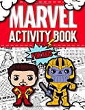 Marvel Activity Book For Kids: Avengers Activity Book: Find the Match, Dot-To-Dot, Word Search, Maze, Color by Number and So Many More Inside!
