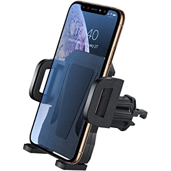 Air Vent Car Mount Holder w//Auto-Clamp for Auto Locking or Release Compatible for iPhone X Xs 6 7 8 Plus Samsung Series MOROCK Cell Phone Holder for Car Silver