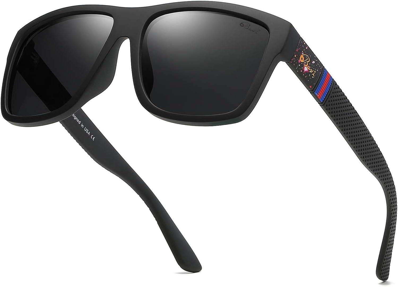 Bevi Ranking Milwaukee Mall TOP12 Sports Polarized Sunglasses for Square Men Protection Su UV