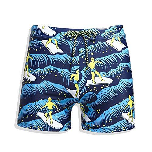 Uiophjkl Vrije tijd gezellig Zwemkleding Mannen Maillot Zwemshorts Kleur Zwemshorts Beach Wear Briefs Mannen Quick Dry Swim Trunks (S-XXL) Geschikt outdoor watersporten