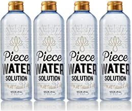 Piece Water Solution   All Natural Ingredients   Water Replacement & Cleaner   12oz (4)