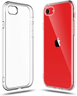 Compatible with iPhone SE 2020 (2nd Generation), iPhone 8 and 7 Case, Shamo's Clear Cover Shock Absorption TPU Rubber Gel ...