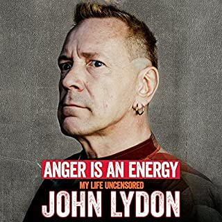 Anger Is an Energy audiobook cover art
