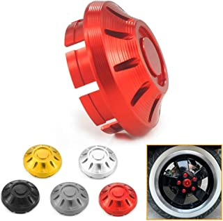 QIDIAN Universal Steering Wheel Spacer Hub Adapter Retainer for MOMO to NARDI Personal Red