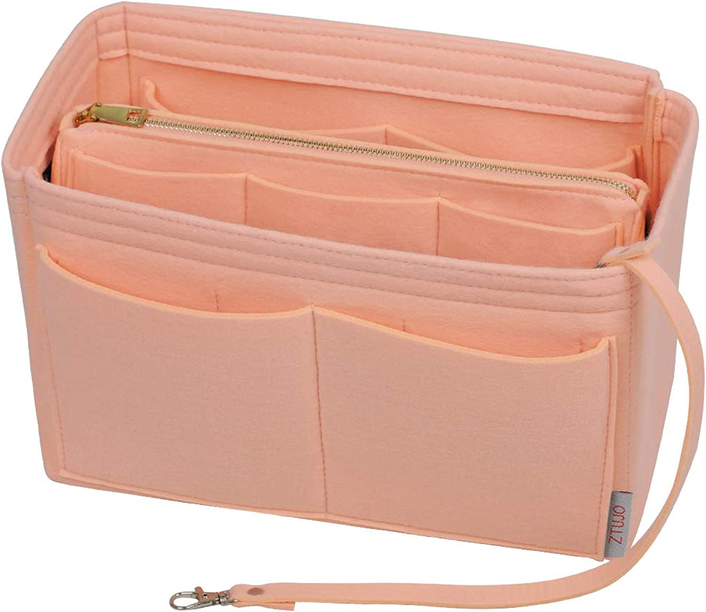 Purse Organizer Max Sale special price 70% OFF Insert Felt Bag organizer Handbag with zipper