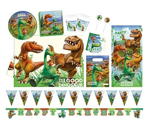 Procos 10110975B Partyset Disney Pixar Arlo und Spot, Größe XL, 58 teilig
