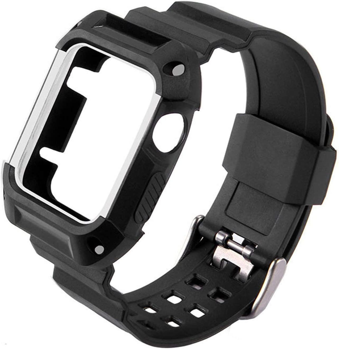 LJSKAFF TPU Rubber Watchband with Protective Case security Watch Free shipping / New for