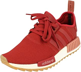 NMD_R1 Trail W Unisex Running Trainers Sneakers (UK 7.5 US 8 EU 41 1/3, Maroon White S81047)