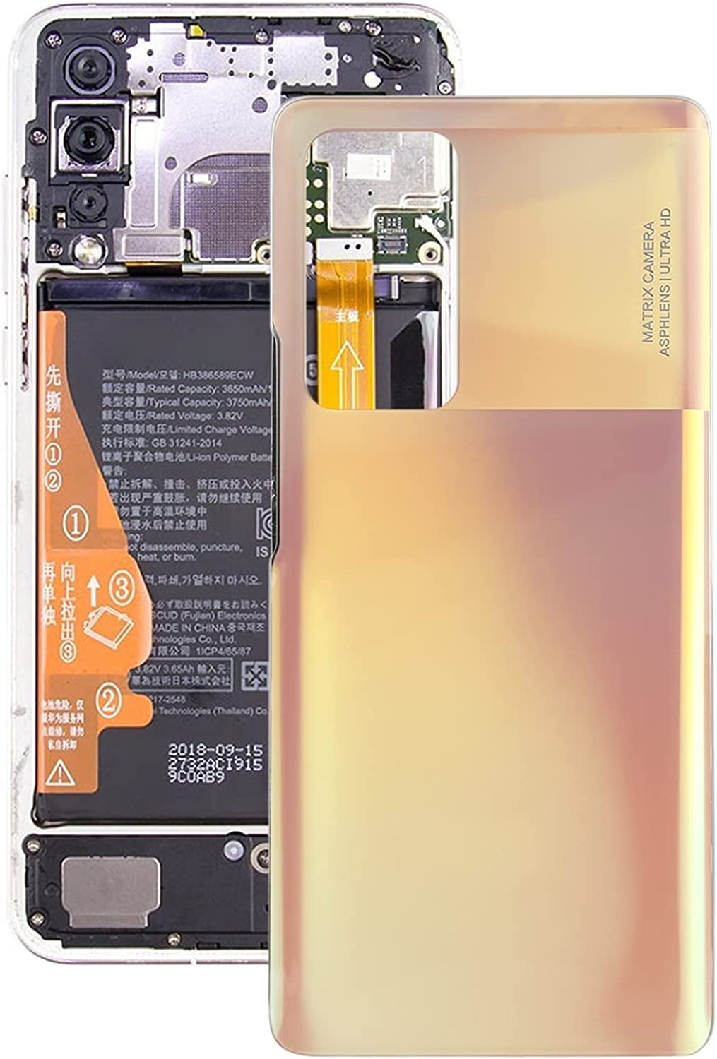 Lihuoxiu Mobile Phone Replacement Back Year-end gift Battery Bac Cover It is very popular