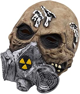 ZAPDAZ Creepy Scary Costume Mask for Adults Party Horror Prop Halloween Supplies Halloween Cosplay Halloween Mask
