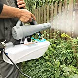 TecTake Electrostatic Sprayer Disinfectant Fogger - Electric Ulv Mister Machine, Ultra-Low Capacity Backpack Atomizer Suitable for Indoor Outdoor Garden Hotel Hospital School, 1.4Gal