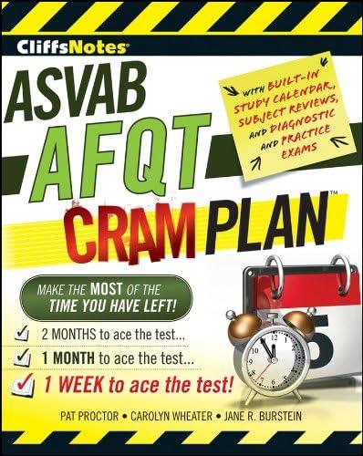 CliffsNotes ASVAB AFQT Cram Plan Cliffsnotes Cram Plan product image