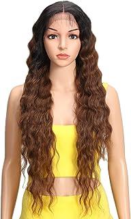 Joedir Lace Front Wigs 30'' Long Wavy Synthetic Wigs For Black Women 130%..
