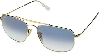 RB3560 The Colonel Square Sunglasses, Gold/Blue Gradient, 61 mm