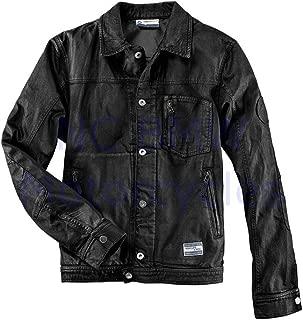 BMW Genuine Denim Men Jacket Black L Large