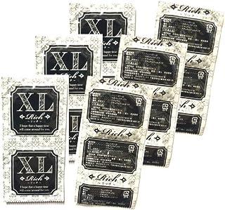 業務用コンドームお試しパック【12個入り】Rich リッチ XLサイズ│12枚入り 業務用スキン 小分け バラ売り