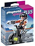PLAYMOBIL Especiales Plus -  Agente Secreto con Balance Racer , Juguete Educativo, Multicolor, 10 x 3,5 x 12,5 cm, (5296)