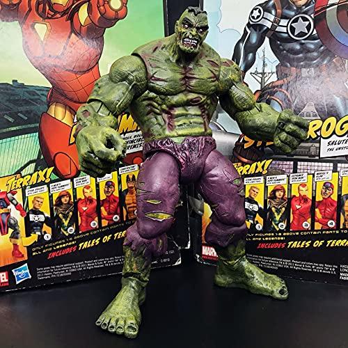 JSJJATQ Action figures Select Diamond Zombie-Hulk 8' Loose Rare