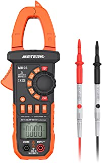 Meterk Digital Clamp Meter Multimeter 4000 Counts Auto-ranging Multimeter AC/DC..
