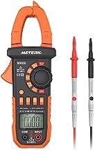 Meterk Digital Clamp Meter Multimeter 4000 Counts Auto-ranging Multimeter AC/DC..