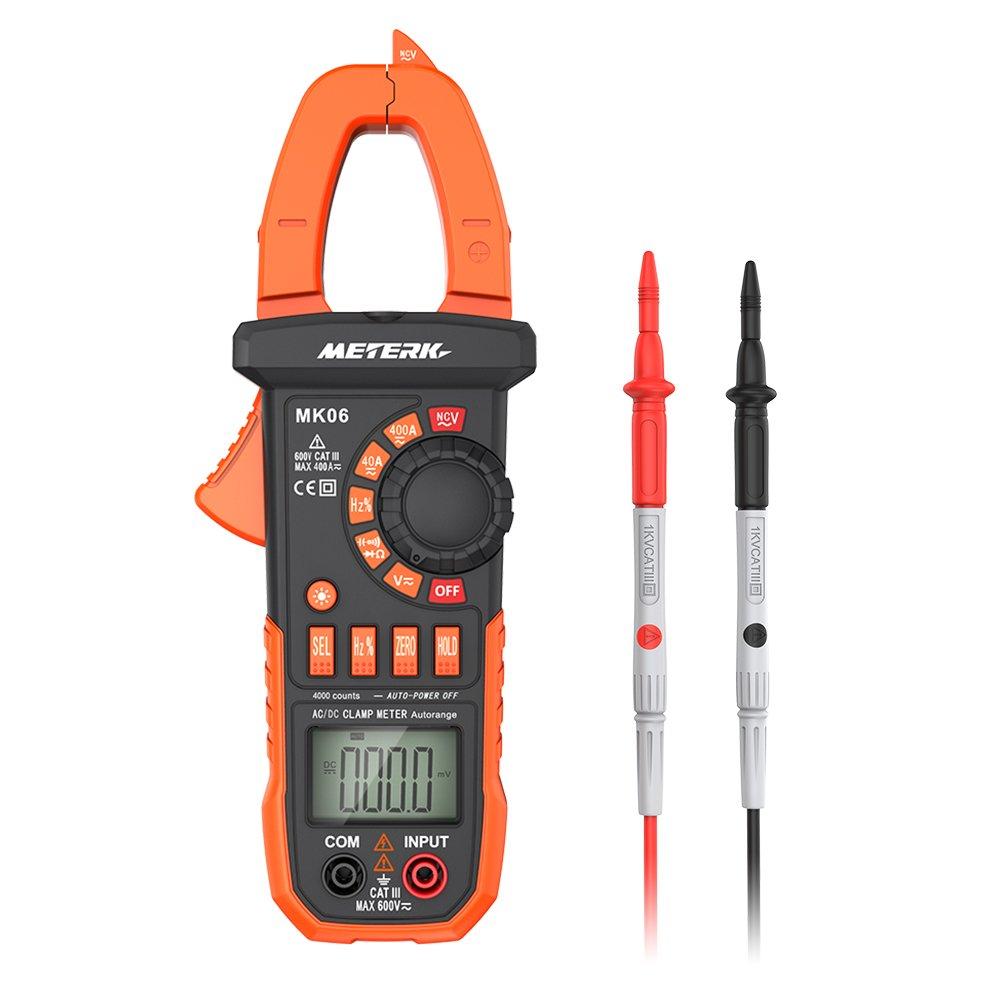 Meterk Multimeter Auto ranging Capacitance Non contact