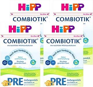 (跨境自营)(包税) Hipp喜宝 ?有机益生菌奶粉?PRE段?0-3个月 4盒装(4 * 600g)