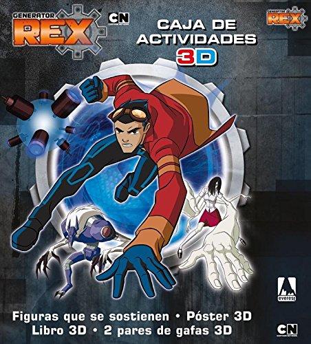 Generator Rex. Caja de Actividades 3D: Figuras que se sostienen. Póster 3D....