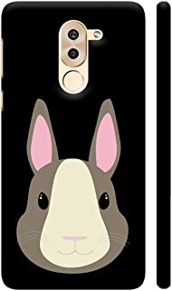 Colorpur Grey Rabbit Printed Back Case Cover for Honor 6X