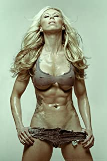 Fit Chick by Daveed Benito Cubicle Locker Mini Art Poster 8x12