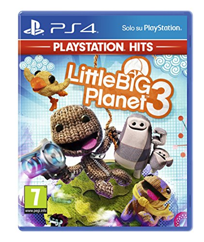Littlebigplanet 3 (Ps Hits) - Classics - PlayStation 4 [Importación italiana]