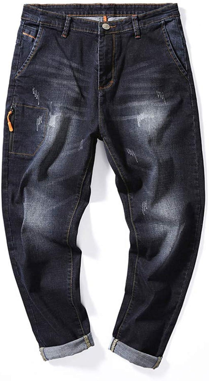 YOJDTD Pants Nine Pants Jeans Aunt Pants Men's Pants