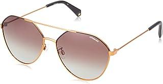 نظارات شمسية مستقطبة للجنسين من بولارود باطار ذهبي - 6059/F/S