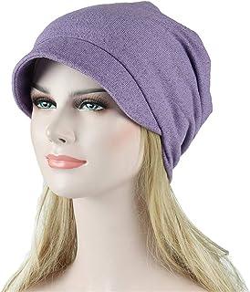 d8105a5b8b6 Women Headwear Soild Muslim Stretch Turban Hat Head Scarf Wrap Cap for  Cancer Chemo
