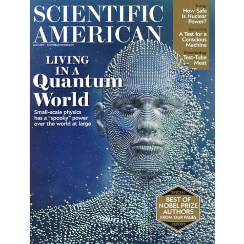 Scientific American, June 2011 audiobook cover art