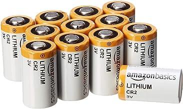 AmazonBasics Lithium CR2 3 Volt Batteries – Pack of 12