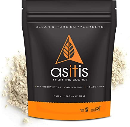 AS-IT-IS Nutrition Pea Protein Isolate | Designed for Meal Supplementation | Easy To Digest - Vegan & Gluten-Free (1000 gms)