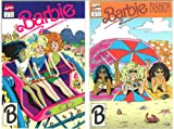 Two Barbie Fashion Comics from Marvel, 1991