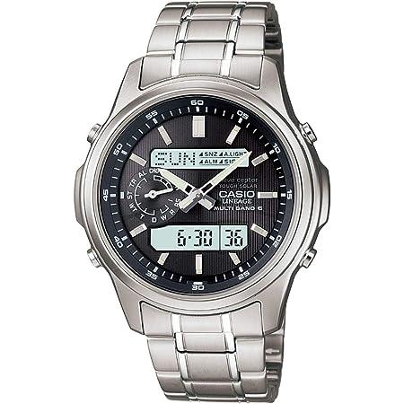 [カシオ] 腕時計 リニエージ 電波ソーラー LCW-M300D-1AJF シルバー