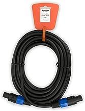 Podium Pro SPM25 25' Pro Audio 12 Gauge Speaker Cable Male Speakon Jack to Male Speakon Jack