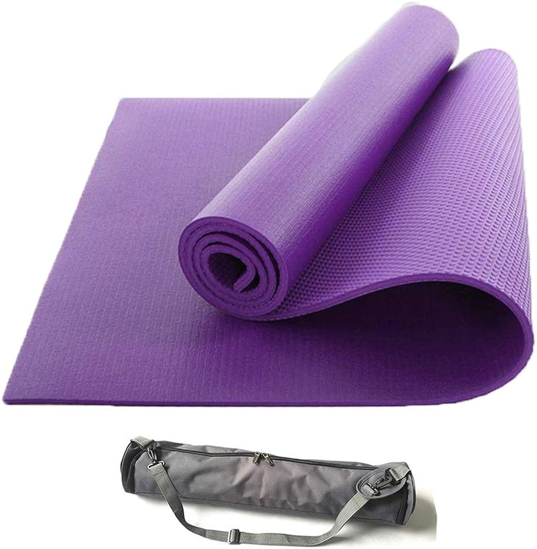 KuaiKeJiaSport Pilates Yoga Gymnastikmatte Doppelseitig Rutschsicher,Hautfreundliche Phthalatfreie Fitnessmatte Premium Yogamatte Trainingsmatte Gymnastik Sehr Weich,Unisex Fitness(183  61cm6mm)