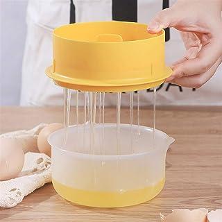 GGJIN Egg White Separator Egg White Yolk Splitter With Egg White Bowl (Color : Yellow)