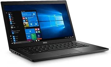 Dell Latitude 7480 14in FHD i5-6300U 16GB 256GB SSD Webcam Backlit Keyboard Black (Renewed)